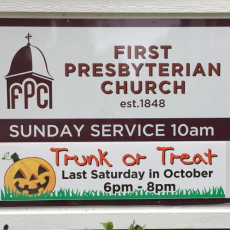 Things to do in Fishers-Noblesville, IN for Kids: Trunk or Treat, First Presbyterian Church Noblesville Indiana