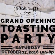 Grand Opening Toasting Party!