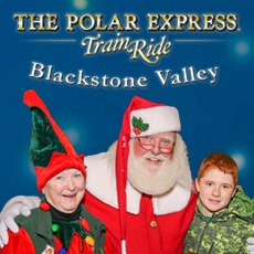 Things to do in Mansfield-Attleboro, MA for Kids: The Polar Express Train Ride , Blackstone Valley Polar Express