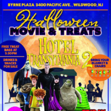 Things to do in Cape May County, NJ: ***Weather Cancellation*** Downtown Wildwood Halloween Movie & Treats (Hotel Transylvania)