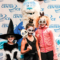 Things to do in Wesley Chapel-Lutz, FL for Kids: Hallowrink, AdventHealth Center Ice