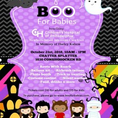 Eastern Main Line, PA Events: BOO for Babies