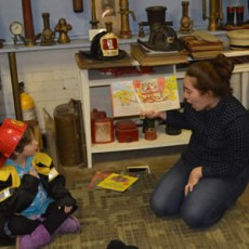 Things to do in North Bergen-Secaucus, NJ for Kids: Storytime at the Fire Department Museum, Hoboken Historical Museum