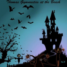 Things to do in Myrtle Beach, SC for Kids: Fright Night 2018, Thomas Gymnastics at the Beach