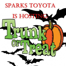 Sparks Toyota Trunk Or Treat Costume Contest