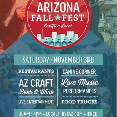 Things to do in Tempe-Mesa, AZ for Kids: Arizona Fall Fest, Local First Arizona