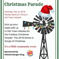 Things to do in San Antonio Northwest, TX for Kids: Helotes Cowboy Christmas Parade, City of Helotes