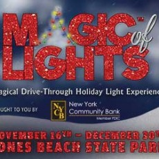 Things to do in Town of Hempstead, NY for Kids: Magic of Lights Show at Jones Beach, Jones Beach State Park