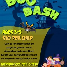 Fort Myers, FL Events: Boo Bash! (3-5 yrs)