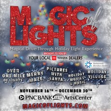 Things to do in Red Bank, NJ for Kids: Magic of Lights, PNC Bank Arts Center