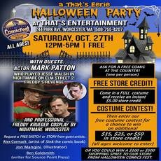 Worcester Massachusetts Halloween Costume Party October 27th 2020 a That's Eeire Halloween Party | Hulafrog Worcester, MA