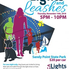 Things to do in Annapolis-Severna Park, MD for Kids: Lights and Leashes, LIGHTS ON THE BAY