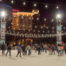 Things to do in Oklahoma City North, OK for Kids: Devon Ice Rink at Myriad Gardens, Myriad Botanical Gardens