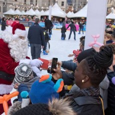 Things to do in Eastern Main Line, PA for Kids: Santa Express, Dilworth Park