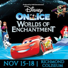 Things to do in Richmond West End, VA for Kids: Disney On Ice presents Worlds of Enchantment, Richmond Coliseum