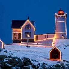 Things to do in Southern Maine, ME for Kids: The Annual Lighting of the Nubble, Town of York Maine Parks and Recreation Department