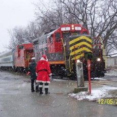 Things to do in Richmond South, VA for Kids: The Santa Express, Old Dominion Railroad Excursions