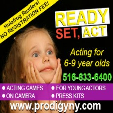Ready, Set, Act! (6-9 years)