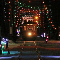 Things to do in South Windsor, CT for Kids: Winterfest and Tunnel of Lights, Connecticut Trolley Museum