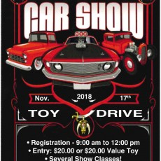 2nd Annual Moslah Car Show & Toy Drive