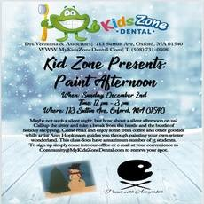 Things to do in Worcester, MA for Kids: Kids Zone Dental Presents: Paint Afternoon, Kids Zone Dental
