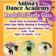 Ready/Set/Dance Class (Ages 18 Mths - 2 Years)