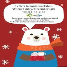 Things to do in Worcester, MA for Kids: Letters to Santa Workshop, Kids Zone Dental