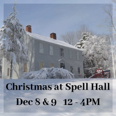 Things to do in Warwick, RI for Kids: Christmas at Spell Hall (Dec 8 - 9), General Nathanael Greene Homestead