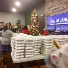 Feeding our Heroes on Christmas