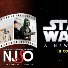 Southern Monmouth, NJ Events for Kids: Star Wars: A New Hope in Concert