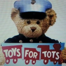 Collecting toys for less fortunate kids.