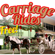 Things to do in Virginia Beach, VA for Kids: Free Horse-Drawn Carriage Rides, Pembroke Mall