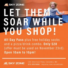 Things to do in Columbia, MO for Kids: Drop Off Day Camp!, Sky Zone Columbia