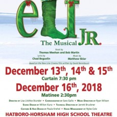 Doylestown-Horsham, PA Events for Kids: Elf!  The Musical