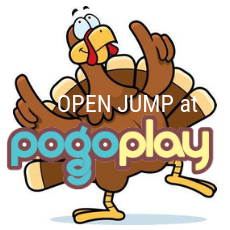 Things to do in Cincinnati Eastside, OH for Kids: Day before Thanksgiving JUMP!, Pogo Play