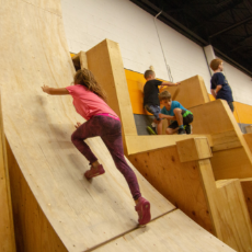 Parkour and Ninja Warrior Classes