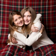 Things to do in West Hartford-Farmington Valley, CT for Kids: December Tartan and Blue Holiday Portraits, IRIS Photography