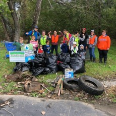 Trash to Treasure - Stream Clean up and Art Creation Event