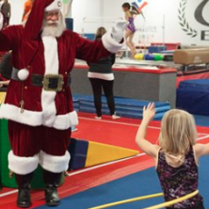 Things to do in Burnsville-Shakopee, MN for Kids: EGA's Santa's Toys for Tots Open Gym, Elite Gymnastics Academy
