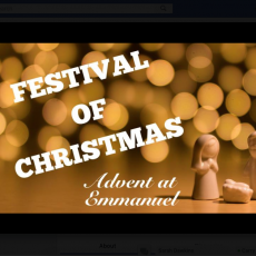 Annual Festival of Christmas at Emmanuel