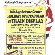 InfoAge Science Center Holiday Spectacular and Train Display