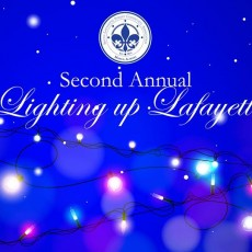 Things to do in Mobile, AL for Kids: 2nd Annual Lighting up Lafayette, City of Mobile