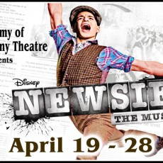 Things to do in Brockton-Marshfield, MA for Kids: Newsies The Musical, The Company Theatre Center for the Arts