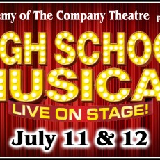 Things to do in Brockton-Marshfield, MA for Kids: High School Musical: Live On Stage, The Company Theatre Center for the Arts