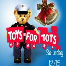 Toys for Tots - Santa at Scal's