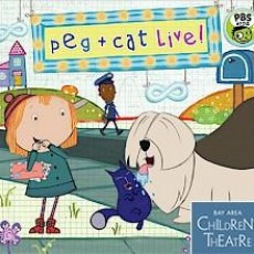 Columbia, MO Events for Kids: Peg+ Cat Live