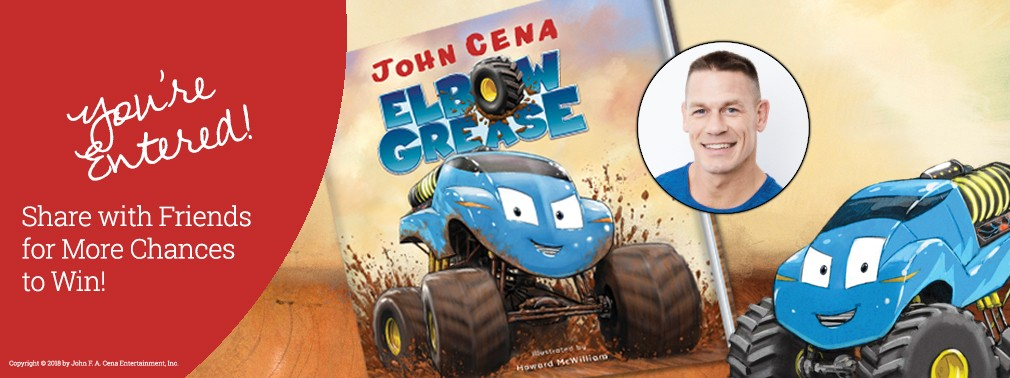 John Cena's Elbow Grease December 2018 Giveaway