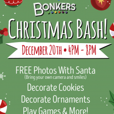 Things to do in Columbia, MO for Kids: Bonkers Christmas Bash, Bonkers - Columbia Missouri