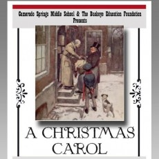 Things to do in Folsom-EDH, CA for Kids: A Christmas Carol, Camerado Springs Middle School