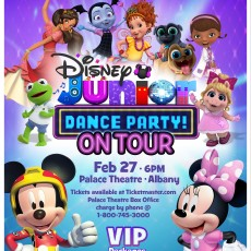 Things to do in Albany-Troy, NY for Kids: Disney Junior Dance Party Live, Palace Theatre